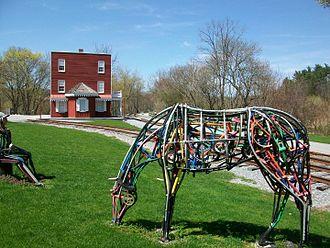 York County Heritage Rail Trail - Image: Livesize horse York Heritage Rail Trail