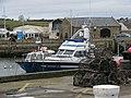 Lobster pots on the harbourside at West Bay - geograph.org.uk - 1086481.jpg