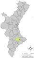 Localització de Tollos respecte el País Valencià.png