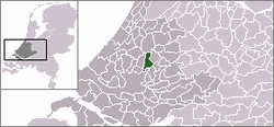 Location of Zevenhuizen-Moerkapelle