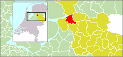 Location of Hasselt