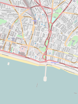 Location map Brighton central