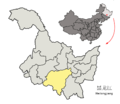 Location of Harbin Prefecture within Heilongjiang (China).png