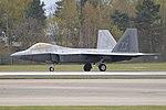 Lockheed Martin F-22A Raptor '05-089 TY' (30603503600).jpg