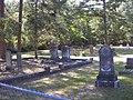 Locust Grove Cemetery - located across the street from the historical Church of the Purification (first Catholic Church in Georgia) Locust Grove Academy.JPG