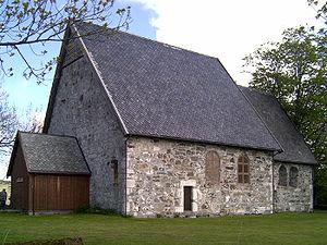 Logtun Church - View of the church