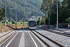 Lokalbahn Gmunden Vorchdorf Bahnhof Engelhof Tramlink 130-9211.jpg