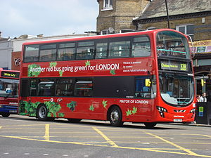 London Bus route 328 hybrid bus A.jpg