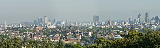 London from Hampstead Heath (4153010758)