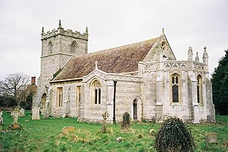 St Marys Church, Long Crichel Church in Dorset, England