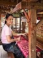 Longyi weaving at Inle lake.jpg