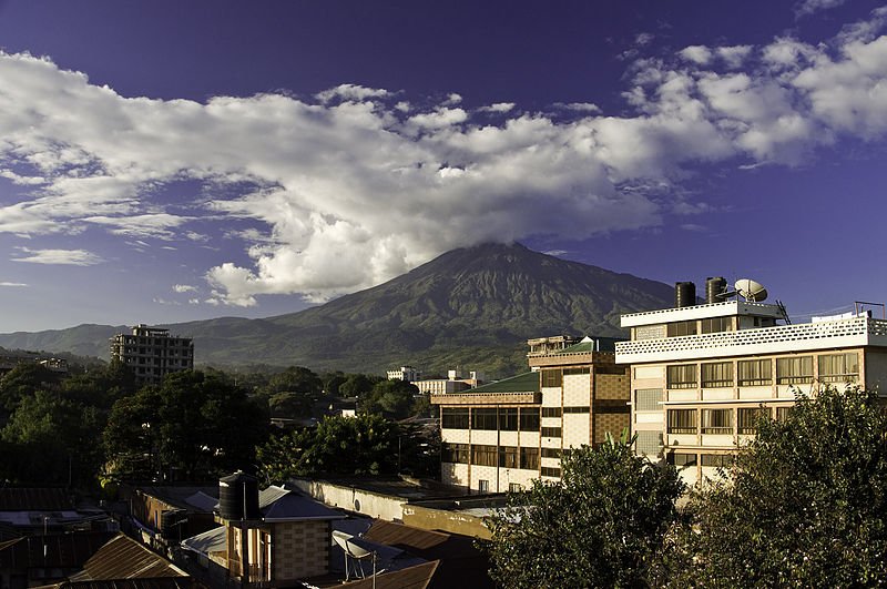 File:Look at Mt. Meru Arusha Tanzania.jpg