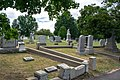 Looking E at section G - Glenwood Cemetery - 2014-09-14.jpg