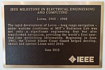 Loran - IEEE Milestone plaque - MIT, Cambridge, MA - DSC03891.jpg