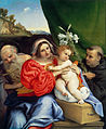 Lorenzo Lotto - Virgin and Child with Saints Jerome and Nicholas of Tolentino - Google Art Project.jpg