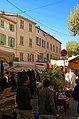 Lorgues - Place du Revelin - Boulevard Clemenceau - View WSW.jpg