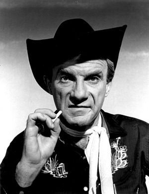 "Jonathan Harris - Harris as ""Zeno"" in the Lost in Space episode ""West of Mars,"" 1966"