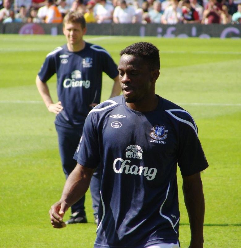 Louis Saha, Everton