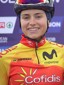 Lourdes Oyarbide - 2018 UEC European Road Cycling Championships (Women's road race).jpg