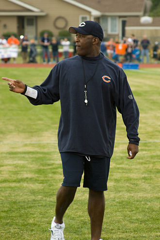 Lovie Smith - Smith at training camp, 2009