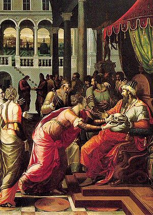 Luca Penni - The Judgment of Otto