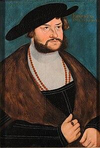 Lucas Cranach d.Ä. (Werkst.) - Ernst der Bekenner, Herzog von Braunschweig-Lüneburg-Celle.jpg