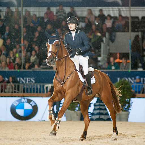 Lucy Davis & Barron - 2013 Longines Global Champions Tour