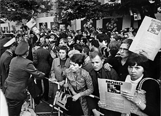 German student movement - Protest against Shah of Iran