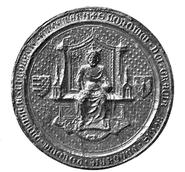 Ludwik Węgierski seal 1370