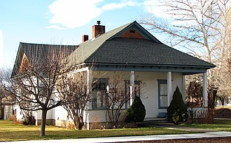 National Register of Historic Places listings in Jefferson County, Oregon - Image: Lueddemann House Madras Oregon