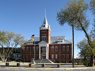 National Register of Historic Places listings in Luna County, New Mexico - Image: Luna County New Mexico Court House
