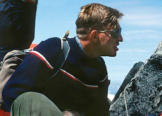 Lute Jerstad American mountaineer and guide