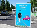Luxembourg, information tram is coming (1).jpg