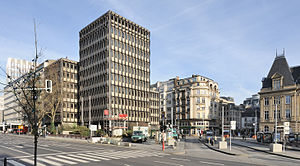 Boulevard Royal - Image: Luxembourg City Centre E Hamilius from bvd Royal