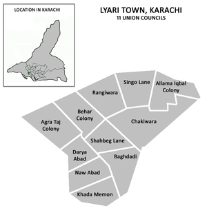District of West Karachi - Image: Lyari Town Karachi