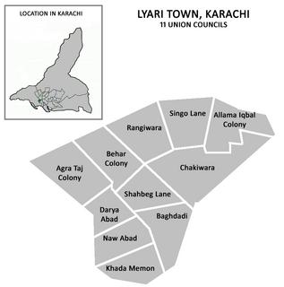 Lyari Town Municipality in Sindh, Pakistan