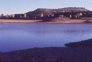 Lyman Reservoir lake