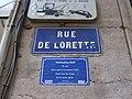 Lyon 1er - Rue de Lorette - Plaque avec souvenir trans 2 (fév 2019).jpg