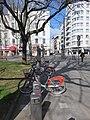 Lyon 2e - Station Vélo'v 2006 place de l'Hippodrome 1 (mars 2019).jpg