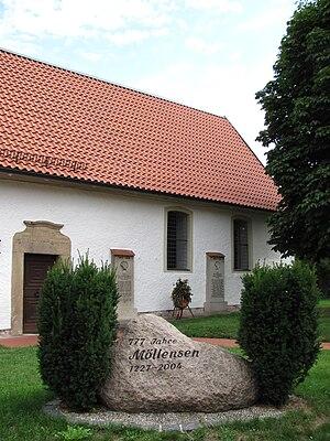 Sibbesse - Memorial stone in Möllensen.