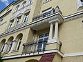 München — Franz-Joseph-Straße 38 (Detail Balkon).JPG