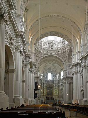 Theatine Church, Munich - Interior of the church