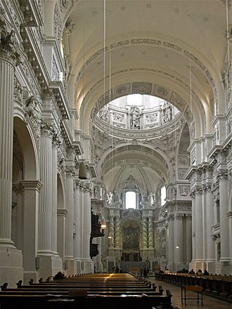 Theatine Church, Munich - Interior of the church