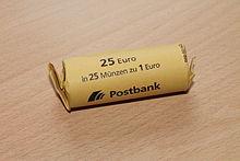 2 euro rollen wie viel