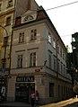Měšťanský dům U zlaté kotvy (Nové Město), Praha 1, Spálená 39, Nové Město.JPG