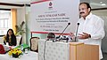 M. Venkaiah Naidu addressing at the felicitation ceremony of Ms. Tina Dabi, IAS topper (2016), on behalf of HUDCO, in New Delhi.jpg