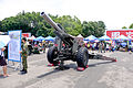 M114A1 155mm Howitzer Display at Chengkungling 20150606.jpg