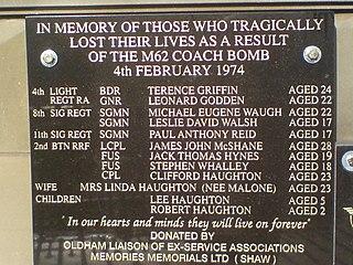 M62 coach bombing