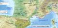 MARCIA DI ANNIBALE DA NOVA CARTHAGO A ITALIA 218 aC.png