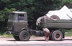MAZ-5433 road tractor, Armed Forces of Ukraine.jpg